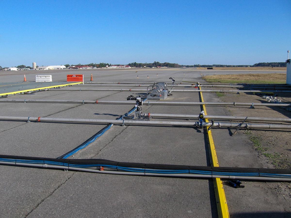 aircraft wash rack