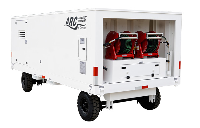 Riveer aircraft rinse carts